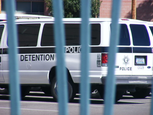 Entrance Gate C - City of Las Vegas Detention Center