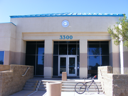 City of Las Vegas Detention Center - Front View