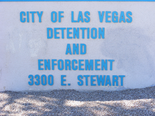 City of Las Vegas Jail