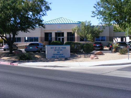 City of Las Vegas Detention Center - Front Entrance
