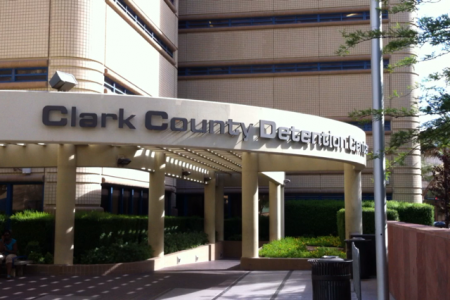 Clark County Detention Center Entrance