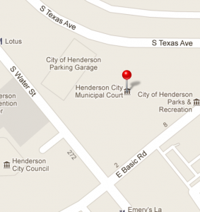 Henderson Detention Center Location