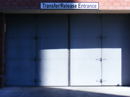 Clark County Jail - Transfer Release Entrance