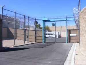 Las Vegas Detention Center Entrance