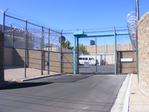 Las Vegas Detention Center Entrance
